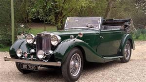 MG Sa Coupe Wedding car. Click for more information.