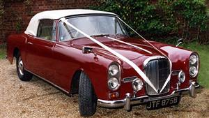 Alvis TE 21 Coupe Wedding car. Click for more information.