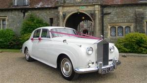 Rolls Royce Silver Cloud I Wedding car. Click for more information.