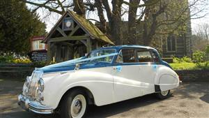 Armstrong Siddeley 1958 Sapphire Wedding car. Click for more information.