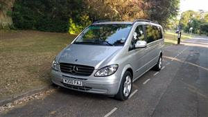 Mercedes Viano Wedding car. Click for more information.