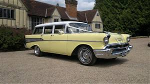 Chevrolet Stationwagon Wedding car. Click for more information.