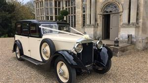 Daimler,1928 Straight Eight,Black & Ivory