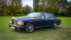 Rolls Royce Silver Spirit Wedding car. Click for more information.