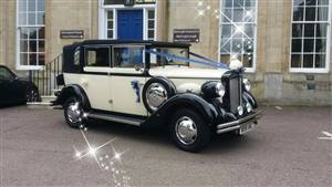 Regent Landaulet Wedding car. Click for more information.