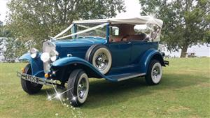 Ryecroft Tourer Wedding car. Click for more information.