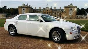 Chrysler 300C - Baby Bentley Wedding car. Click for more information.