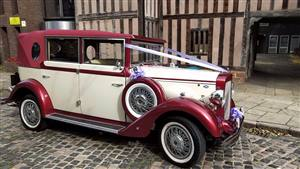 Regent Classic Wedding car. Click for more information.