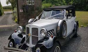 Beauford Convertible 4 Door Open Top Tourer Wedding car. Click for more information.