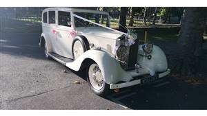 Rolls Royce 1935 Hooper 20/25 Wedding car. Click for more information.