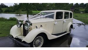 Rolls Royce 1935 Hooper 20/25  Wedding car. Click for more information.