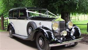 Rolls Royce 1936 25/30 Limousine Wedding car. Click for more information.