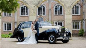 Rolls Royce 1951 Silver Wraith Wedding car. Click for more information.
