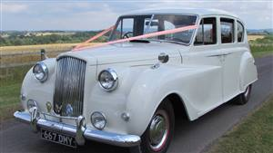 Austin 1955 Princess Wedding car. Click for more information.