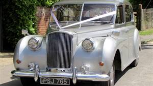 Austin 1961  Princess Wedding car. Click for more information.