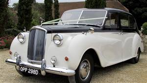 Austin 1966 Princess Wedding car. Click for more information.