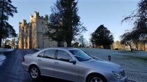 Mercedes E Class Wedding car. Click for more information.