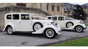 Rolls Royce Pair 1935 Vintage Rolls Royce Wedding car. Click for more information.