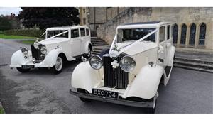 Rolls Royce Pair Vintage Rolls Royce Limos Wedding car. Click for more information.