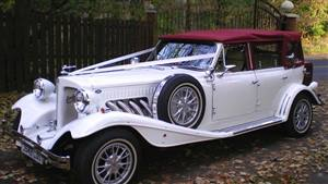 Beauford,4 Dr Tourer,White