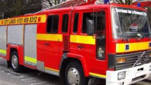 Fire Engine  Wedding car. Click for more information.
