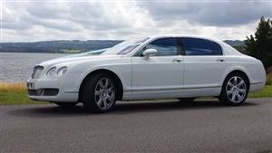 Bentley Flying Spur Wedding car. Click for more information.