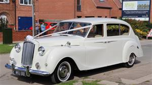 Austin Princess Wedding car. Click for more information.