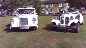 Beauford & Fairway Taxi  Wedding car. Click for more information.