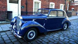 Bentley 1954 R Type Wedding car. Click for more information.