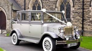 Regal Landaulette Wedding car. Click for more information.