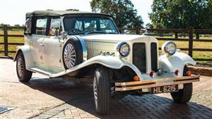 Beauford Tourer 4 Door Wedding car. Click for more information.