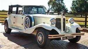Beauford 4 Door Tourer Wedding car. Click for more information.