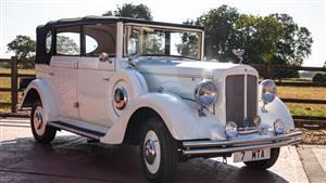 Regent Landaulette Wedding car. Click for more information.