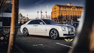 Rolls Royce Ghost Das 3 Limited Edition Wedding car. Click for more information.