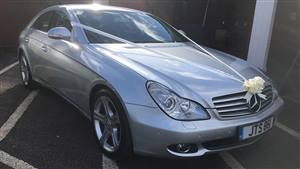 Mercedes-Benz CLS Wedding car. Click for more information.