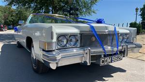 Cadillac Eldorado Wedding car. Click for more information.