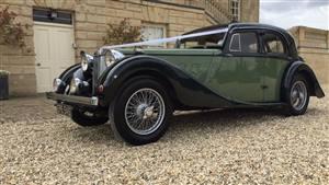 MG SA Wedding car. Click for more information.