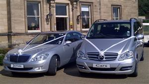 Mercedes Pair S Class & V Class Wedding car. Click for more information.