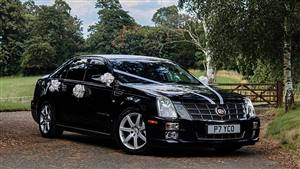 Cadillac STS Wedding car. Click for more information.