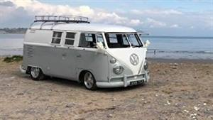 VW Campervan Wedding car. Click for more information.