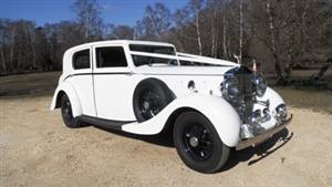 Rolls Royce 1937 Phantom III Wedding car. Click for more information.