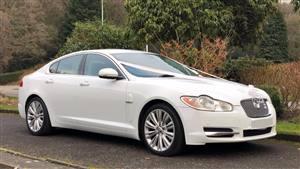 Jaguar XF Wedding car. Click for more information.