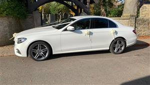 Mercedes E220 4Matic AMG Wedding car. Click for more information.