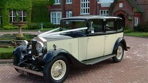 Rolls Royce 20/25 1934 Wedding car. Click for more information.
