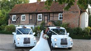 London Taxi Package 2 x Electric Taxi Wedding car. Click for more information.