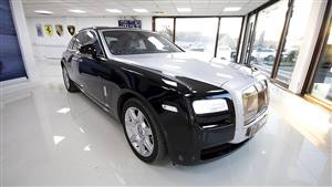 Rolls Royce Ghost Wedding car. Click for more information.