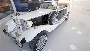 Beauford Series 3 Wedding car. Click for more information.