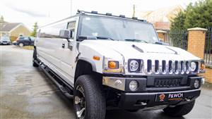 Hummer Limousine H2 Wedding car. Click for more information.