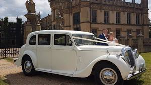 Daimler DE 27 Wedding car. Click for more information.