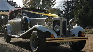 Beauford Open-Top Tourer Wedding car. Click for more information.